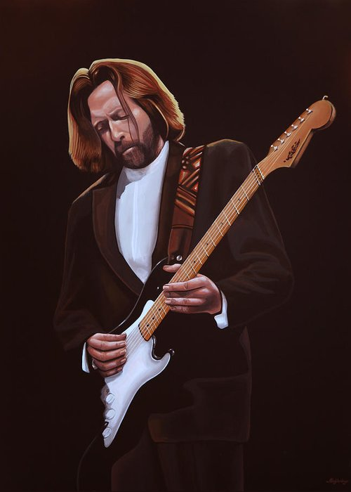 Eric Clapton Greeting Cards