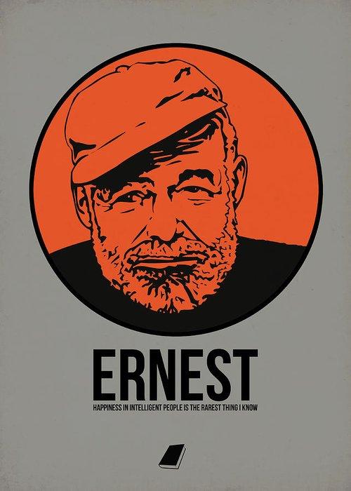 Ernest Hemingway Greeting Cards
