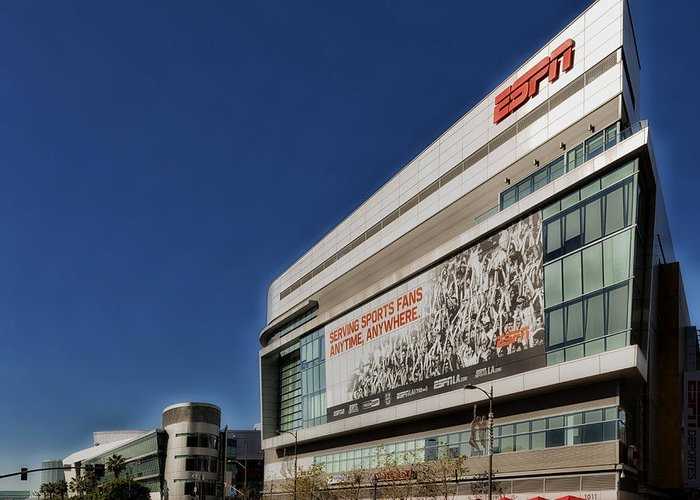 Espn Greeting Card featuring the photograph Espn Los Angeles by Mountain Dreams