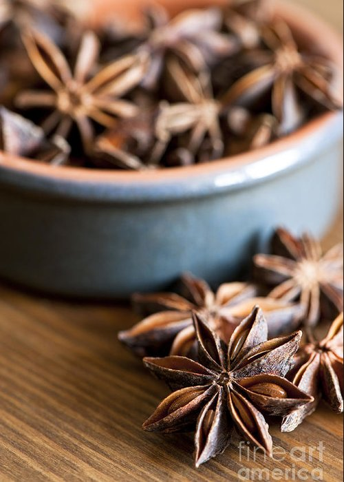 Anise Greeting Card featuring the photograph Essence Of Aniseed by Anne Gilbert