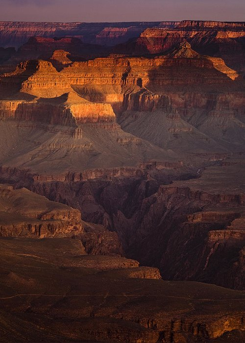 National Park Greeting Card featuring the photograph Evening In The Canyon by Andrew Soundarajan