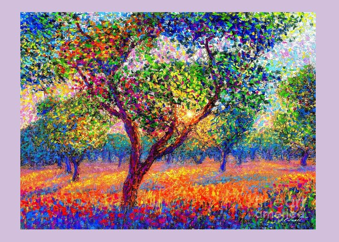 Olive Groves Greeting Cards