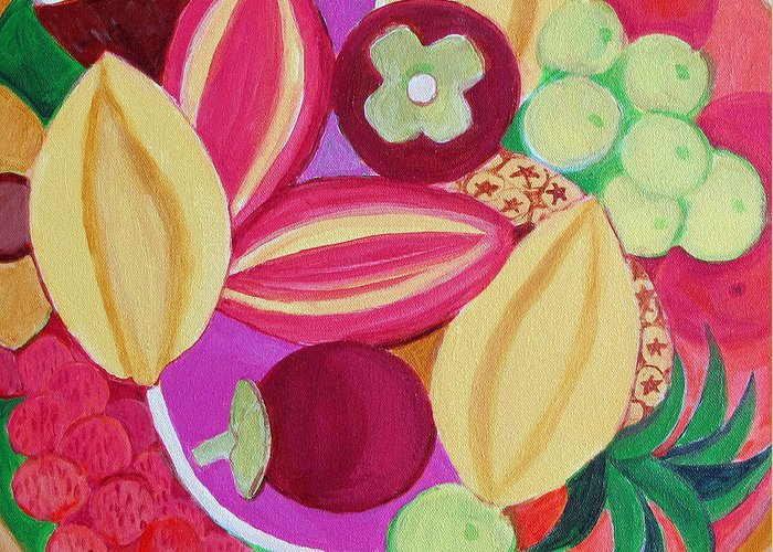 Passion Fruit Paintings Greeting Cards