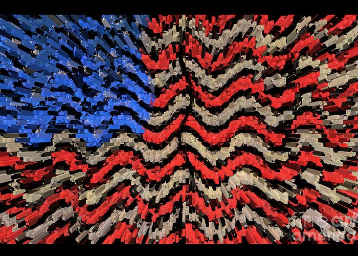 America Framed Prints Greeting Card featuring the photograph Exploding With Patriotism by John Farnan
