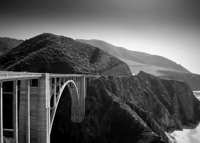 Bixby Bridge Photographs Greeting Cards