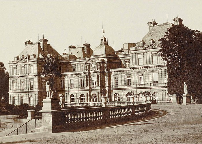 Palais Du Luxembourg Greeting Cards