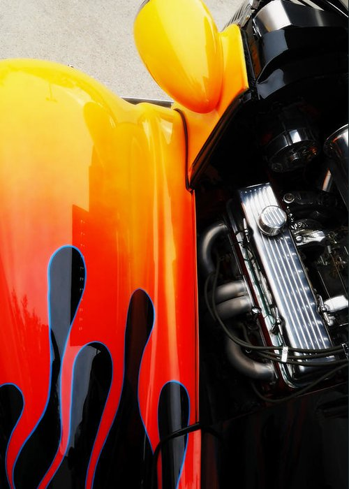 Autos Greeting Card featuring the photograph Extreme Muscle by Steven Milner
