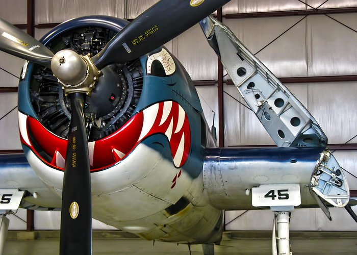 F6f Hellcat Greeting Card featuring the photograph F6f Hellcat by Dale Jackson