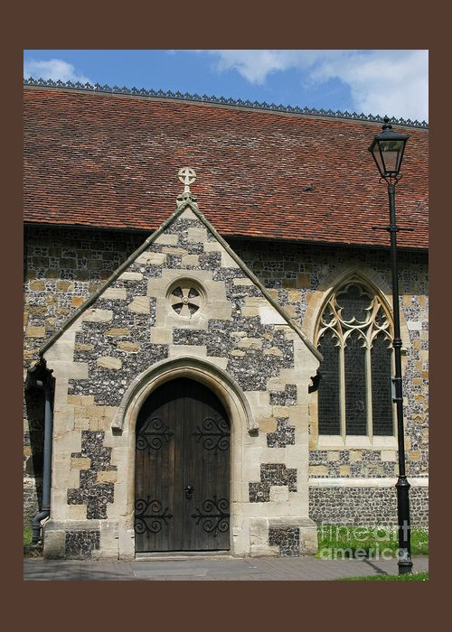 Church Greeting Card featuring the photograph Faithful by Ann Horn