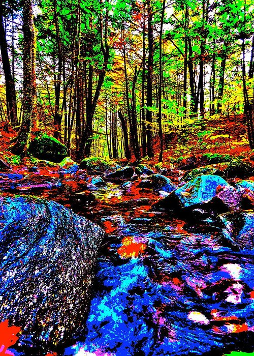 Landscape Greeting Card featuring the photograph Fall 2014 Ultra 36 by George Ramos