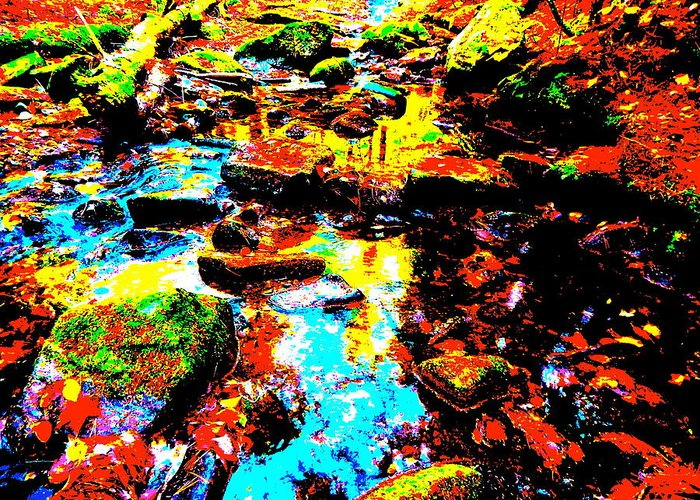Landscape Greeting Card featuring the photograph Fall 2014 Ultra 45 by George Ramos
