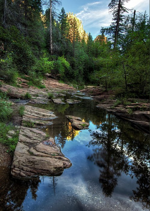 Tranquility Greeting Card featuring the photograph Fall Is Right Around The Corner In by Image By Sean Foster