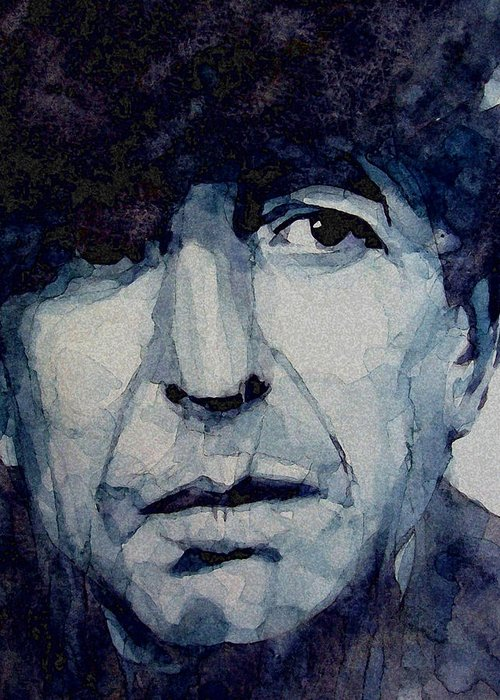 Leonard Cohen Greeting Cards