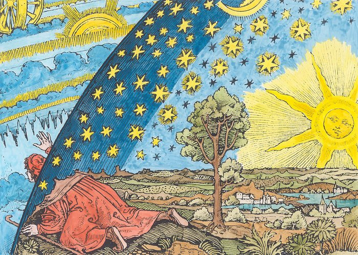 Astrology Drawings Greeting Cards