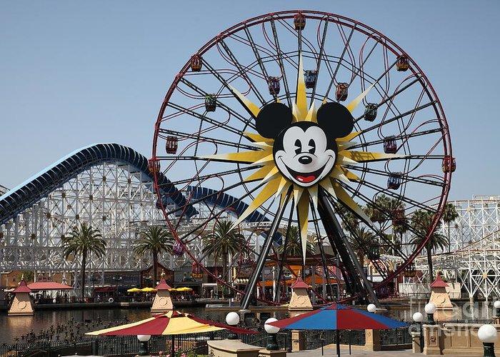 Disney California Adventure Greeting Cards
