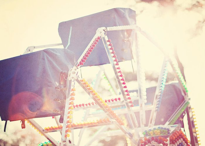 Ferris Wheel Greeting Card featuring the photograph Ferris Wheel by Ken Gehring