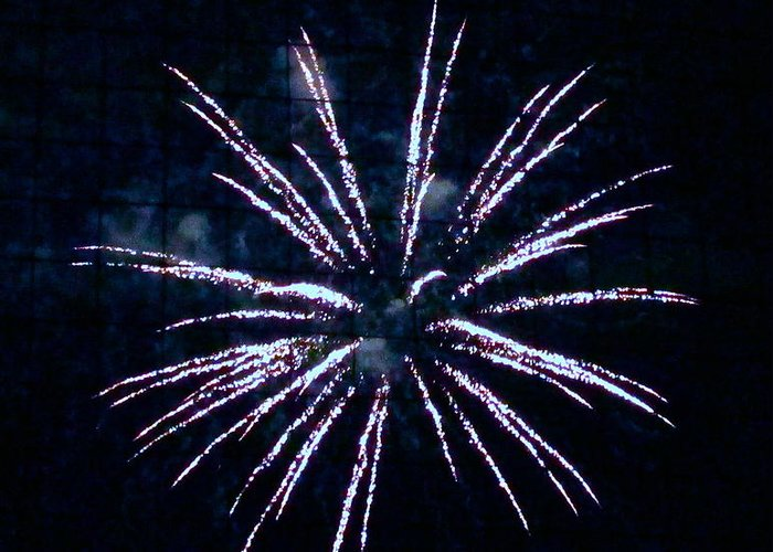 Fireworks Greeting Card featuring the photograph Fireworks by Dana Doyle