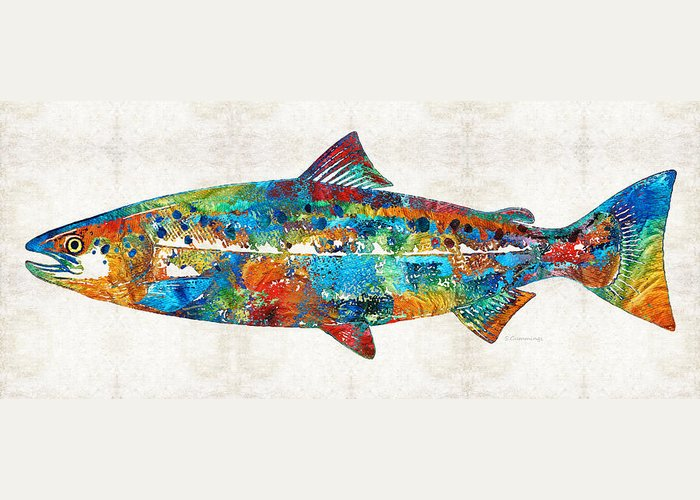 Coho Greeting Cards