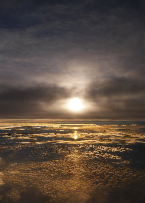 Sunset Greeting Card featuring the photograph Five And A Half Mile Sunset by Richard Reeve