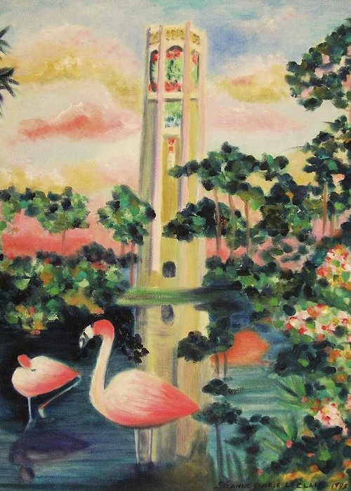 Suzanne Leclair Paintings Greeting Cards