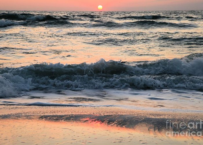 St Joseph Peninsula State Park Greeting Card featuring the photograph Florida Pastels by Adam Jewell
