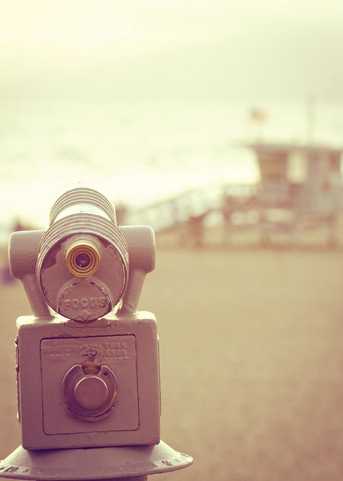Telescope Greeting Card featuring the photograph Focus by Melanie Alexandra Price