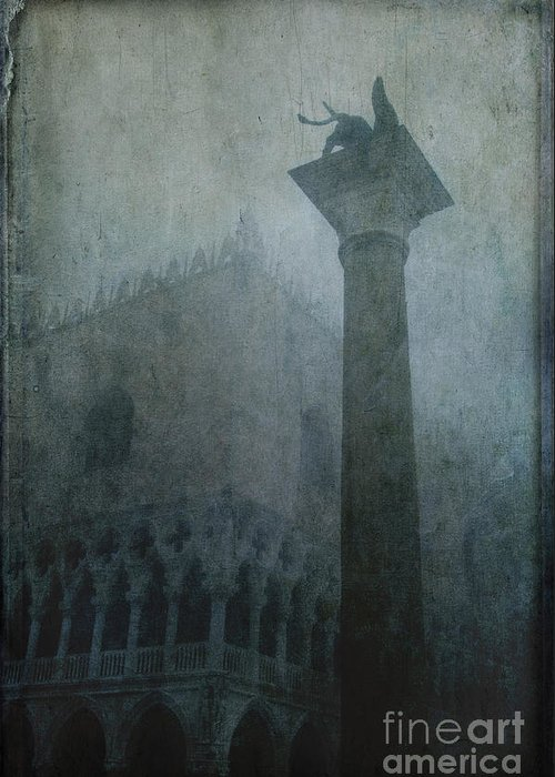 Venice Greeting Card featuring the photograph Foggy Morning by Marion Galt