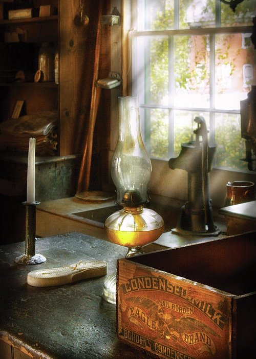 Hdr Greeting Card featuring the photograph Food - Borden's Condensed Milk by Mike Savad