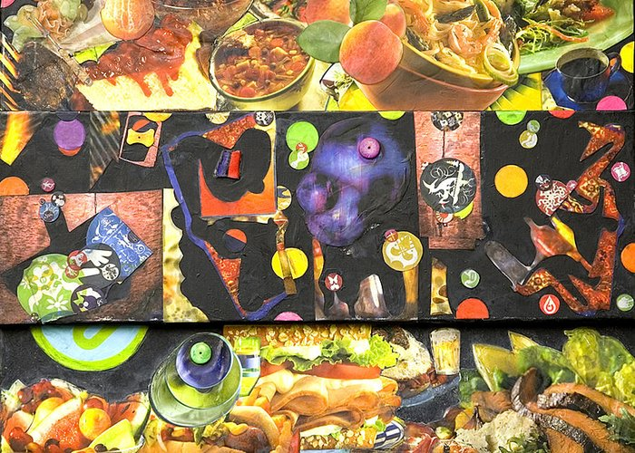Food Greeting Card featuring the photograph Food For Thought 1 Of 6 by Alice Harrison