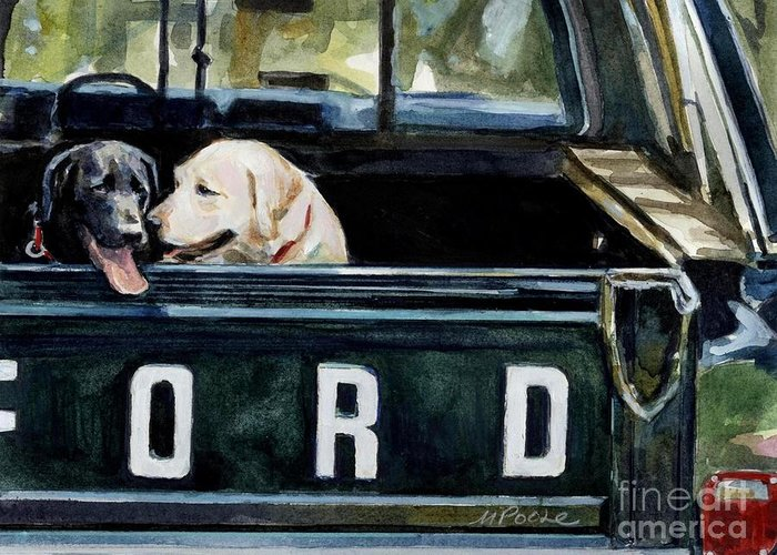 Ford Pickup Greeting Cards