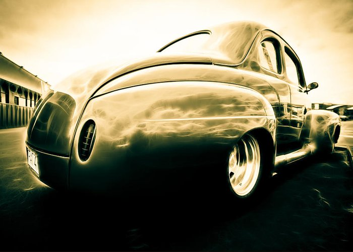 Ford Clubman Greeting Card featuring the photograph Ford Clubman by Phil 'motography' Clark
