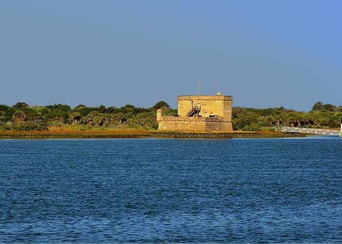 Fort Greeting Card featuring the photograph Fort Matanzas - Saint Augustine Florida by Christine Till
