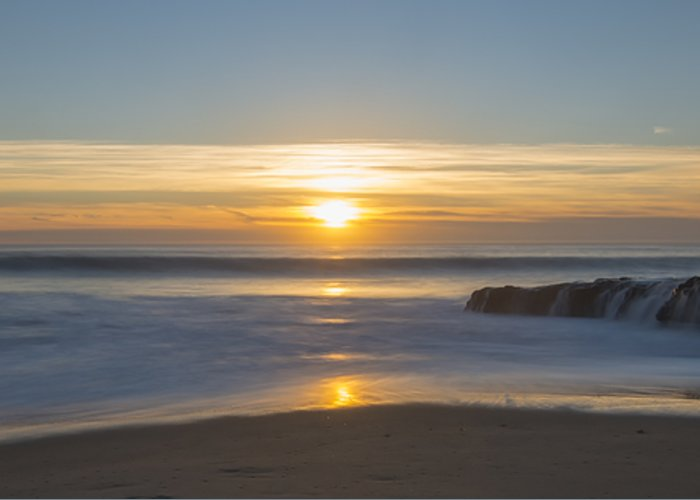 Loree Johnson Greeting Card featuring the photograph Four Mile Beach Sunset by Loree Johnson