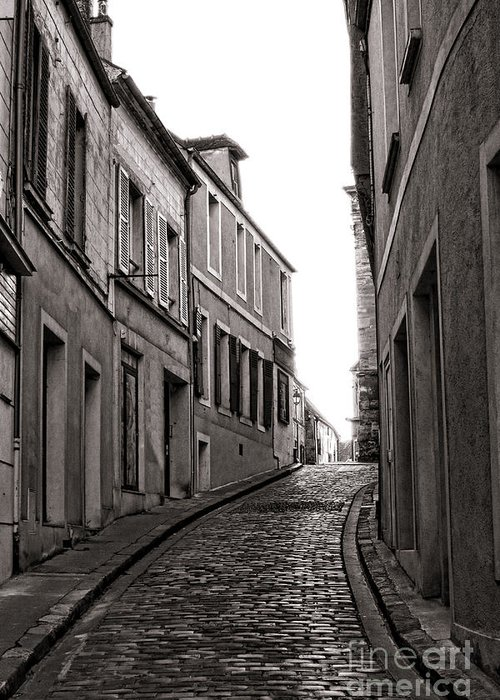 France Greeting Card featuring the photograph French Street by Olivier Le Queinec