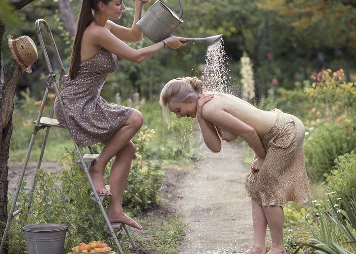 Watering Pot Greeting Cards