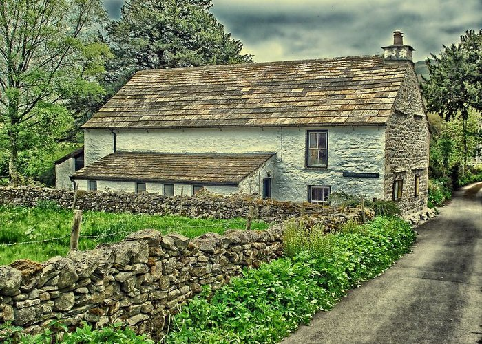 Quaker Greeting Card featuring the photograph Friends Meeting House England by Movie Poster Prints