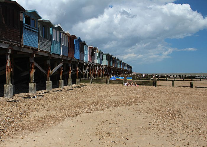 Essex Greeting Card featuring the photograph Frinton-on-sea Essex Uk by Ash Sharesomephotos