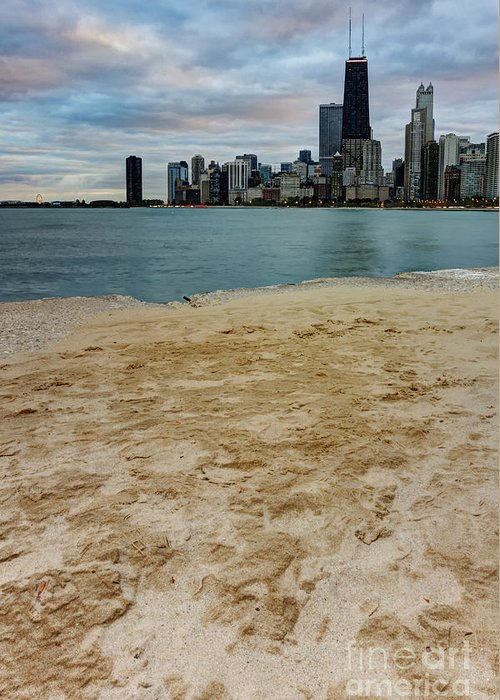 Chicago Greeting Card featuring the photograph From North Avenue Beach by Margie Hurwich