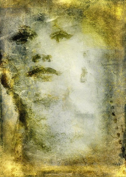 Woman Greeting Card featuring the digital art From Nowhere To Now Here by Gun Legler