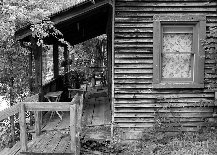 Front Porch Greeting Card featuring the photograph Front Porch by Mel Steinhauer
