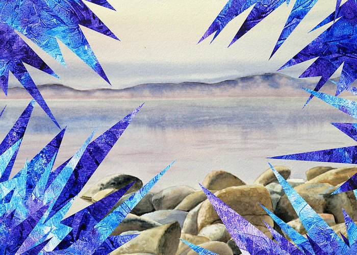 Collage Art For Sale Greeting Cards