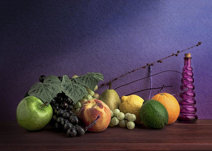 Fruit Greeting Card featuring the photograph Fruit In Still Life by Tom Mc Nemar
