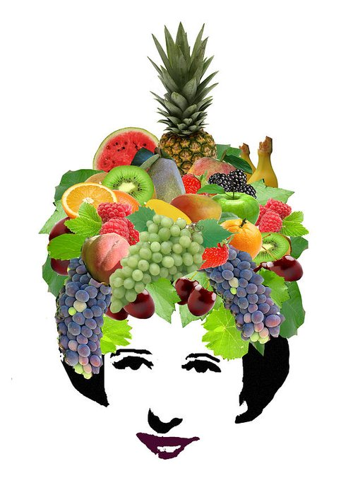 Fruit Greeting Card featuring the photograph Fruit Lady by Jennifer Schwab
