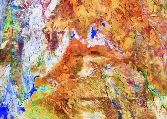Australia Greeting Card featuring the digital art Gascoyne by Phill Petrovic