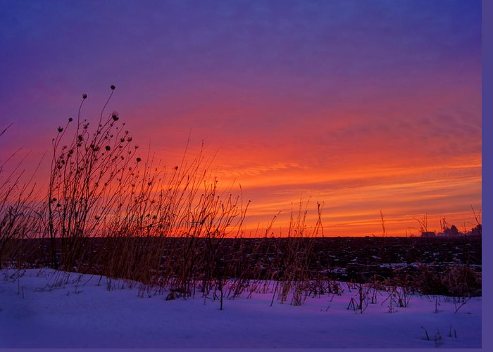 Bill Pevlor Greeting Card featuring the photograph Genesis Dawn by Bill Pevlor