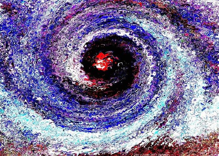 Creation Greeting Card featuring the digital art Genesis by Dr Loifer Vladimir