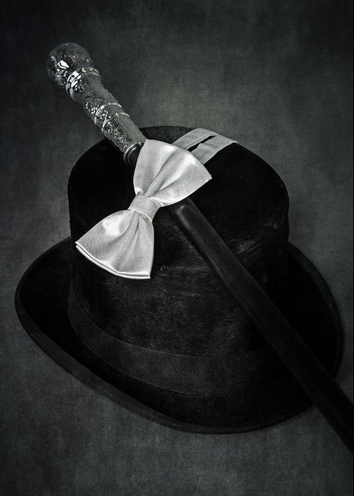 Top Hat Greeting Card featuring the photograph Gentleman by Joana Kruse