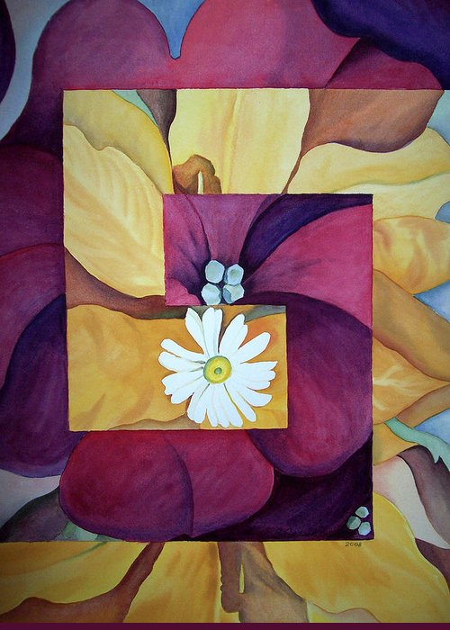 Interpretation Paintings Greeting Cards