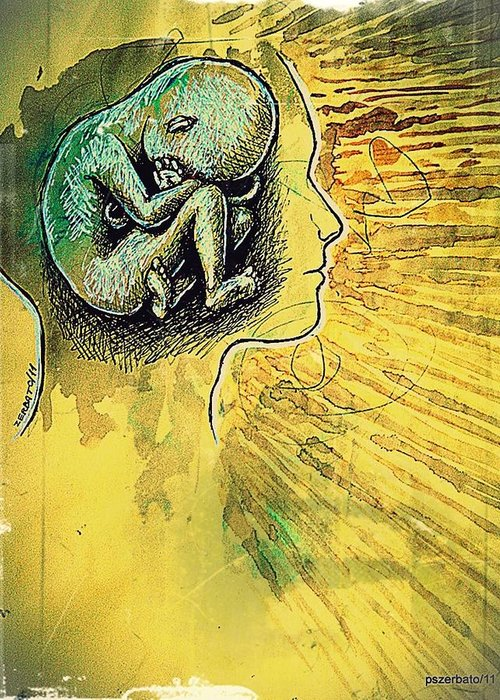 Gestation Of Ideas Greeting Cards