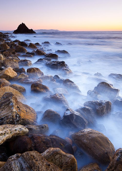 Pescadero Trail Greeting Card featuring the photograph Ghost Coast by Adam Pender